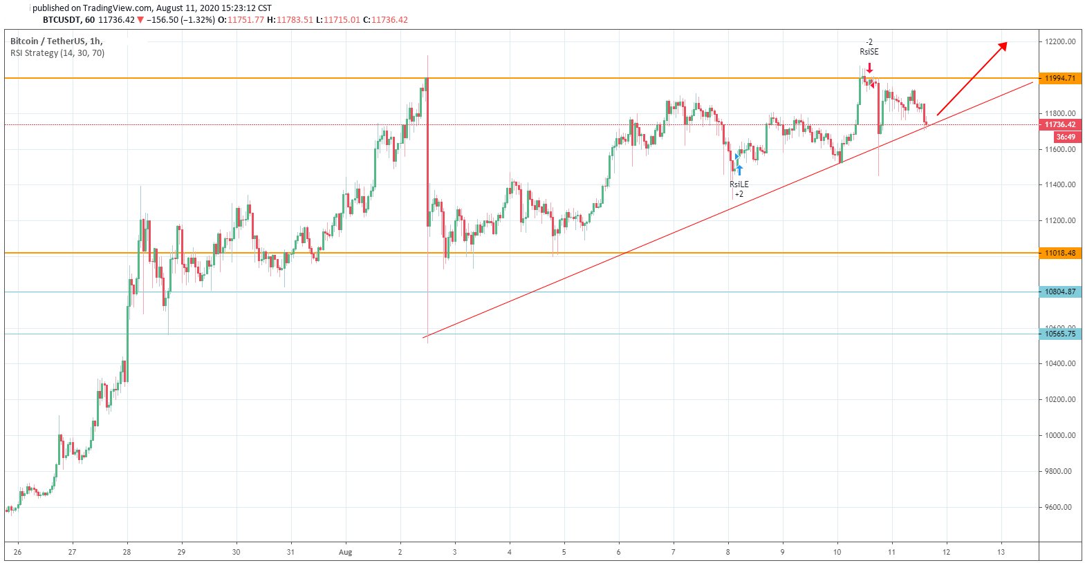 Bitcoin Suddenly Dropped by $500 Revealed Strong Support Down There Instead