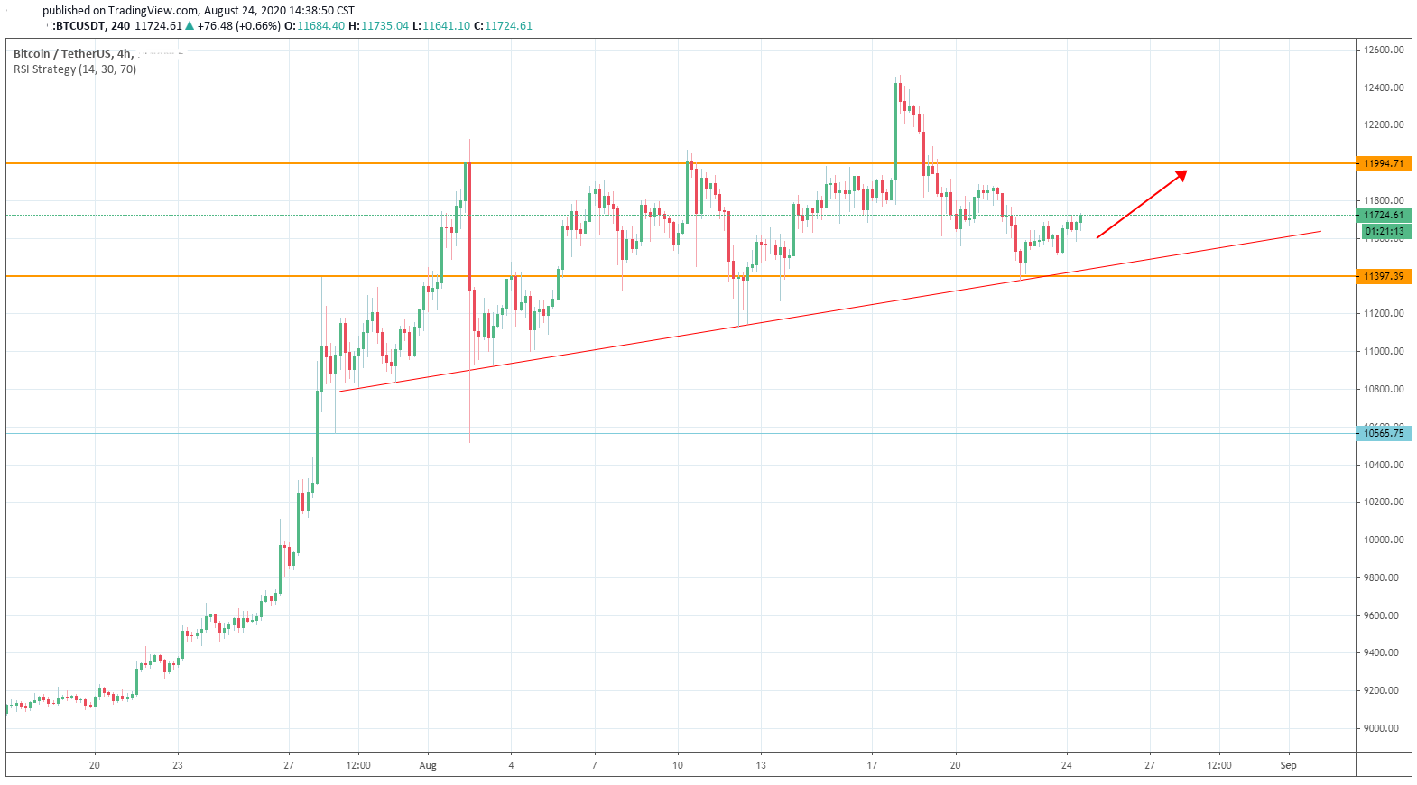 Bitcoin Seems to be Getting a Clear Picture of its' Bullish Path