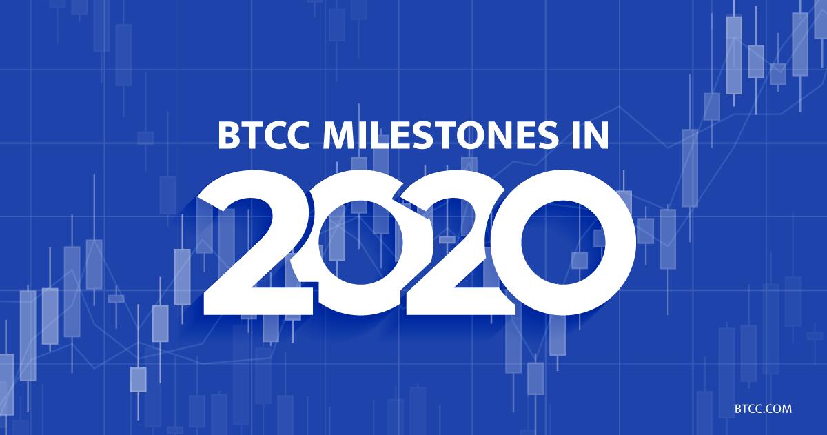 BTCC Milestones in 2020