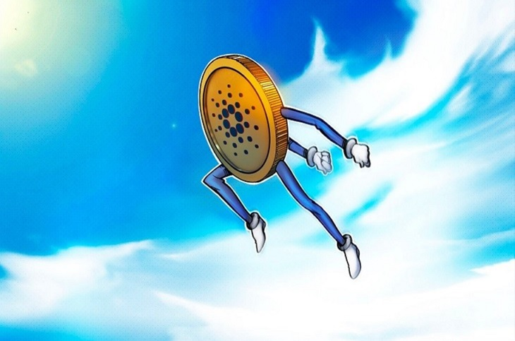 Cardano (ADA) price set a new peak of nearly 1.4 USD, reaching the top 3 largest coin in the world