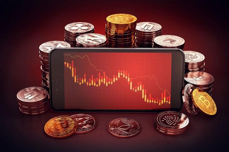 Altcoin giảm hai chữ số khi Bitcoin test lại ngưỡng 45.000 USD