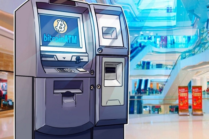 The number of Bitcoin ATMs in the US has increased by 177% in the past year